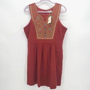 Lucky Brand Embroidered Saydee Dress